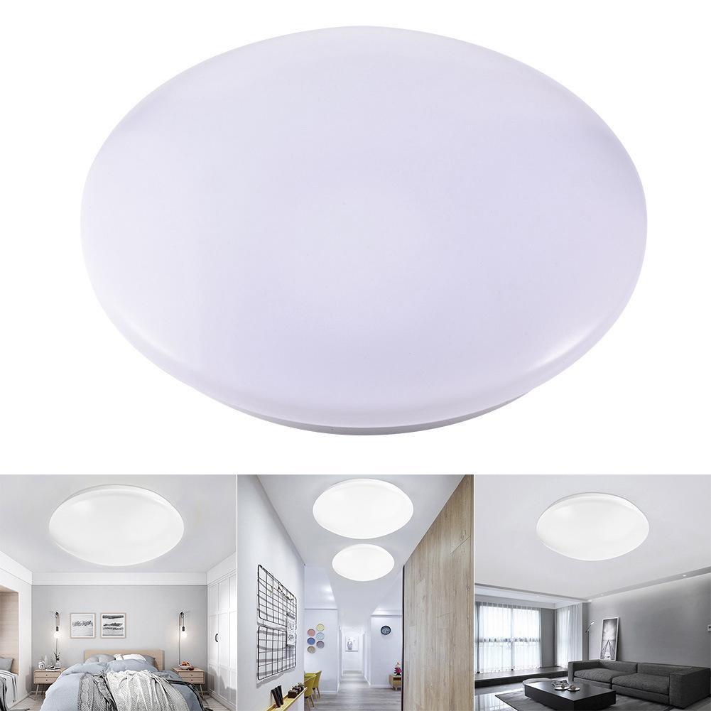 48W Wireless WiFi LED Smart Ceiling Bread Light Bulb APP Remote Control RGB Lamp #01
