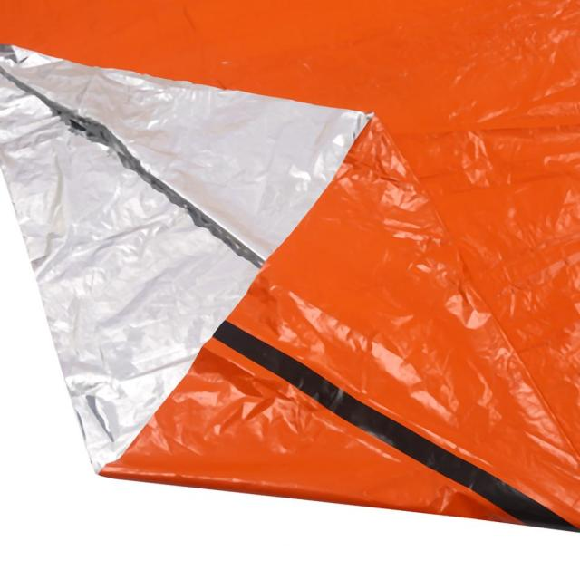 Waterproof Orange Thermal Emergency Blanket