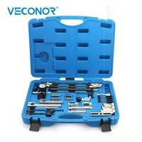 VECONOR Universal Valve Spring Remover Installer Cylinder Head Oil Seal Removal Compressor Tools Kit For Mercedes BENZ BMW AUDI