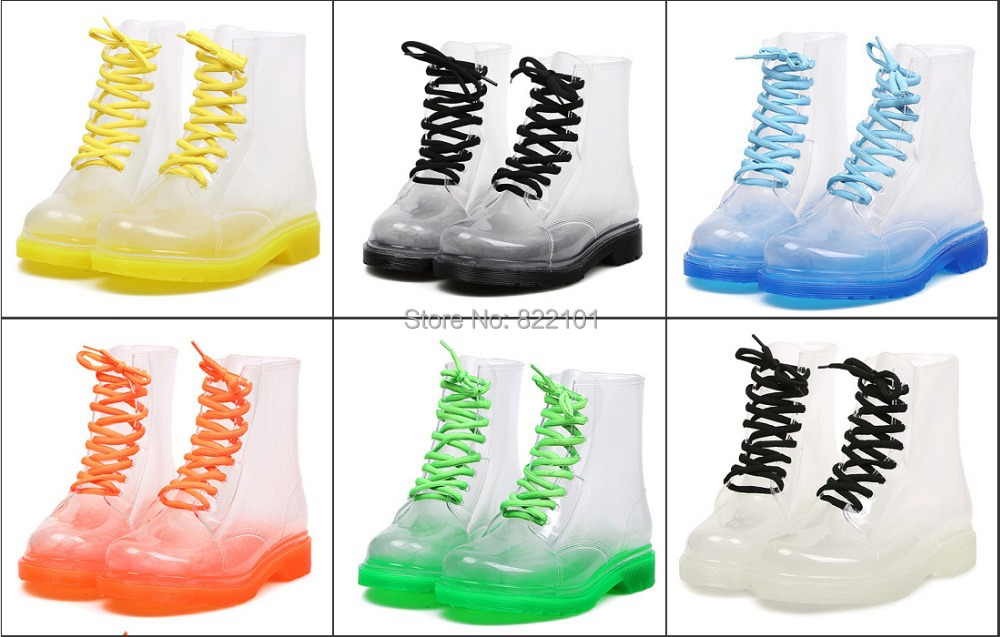 Colored Rain Boots - Yu Boots