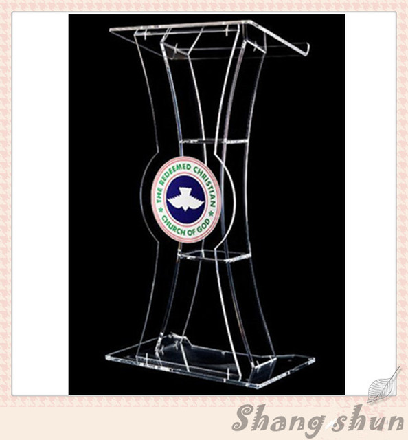 acrylic desktop church lectern church pulpits and lecterns