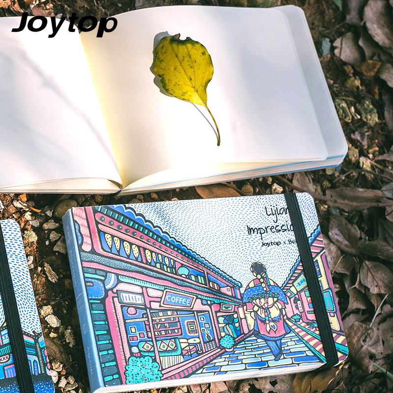 Joytop Sketchbook Lijiang Impression Free Sketchbook A5 Notebook Illustration Hardcover Pastel Drawing Diary Limited Edition планшет impression impad 1003