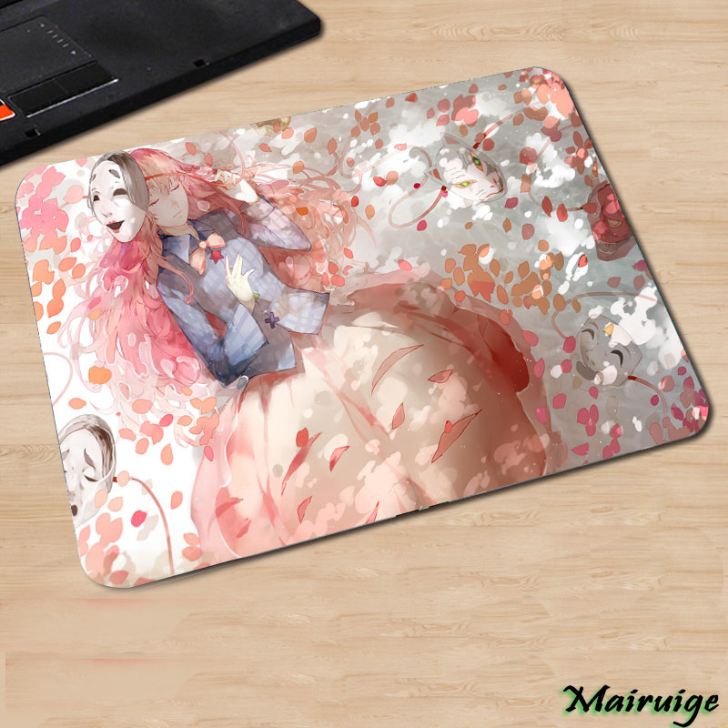 Mairuige Japan Popular Anime Touhou Project Pattern Cute Animation Game Girls Pc Computer Mousepad Small Size Comic Cartoon Mat image