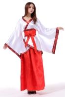 Women Show Class Dress Costume Hanfu Photography China Ethnic Costume Chinese Folk Dance Costume Graduation Ceremony