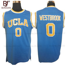 BONJEAN Cheap Russell Westbrook #0 UCLA Bruins College Basketball Jersey Retro Uniforms Stitched Mens Shirts 3 Color
