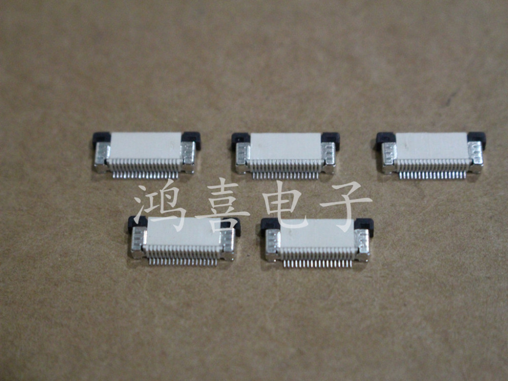 Flexible Flat Cable With Ends : Wzsm brand new ffc flexible flat cable connector fpc