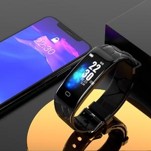 Image 5 - Gelee Kamm Sport Smart Armband Männer Frauen Bluetooth Wasserdichte Smart Band Fitness Tracker 0,96 zoll Farbe Bildschirm Smartband