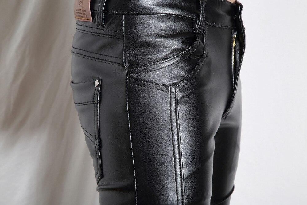 Aliexpress.com : Buy Mens winter Leather Pants men pants Faux ...