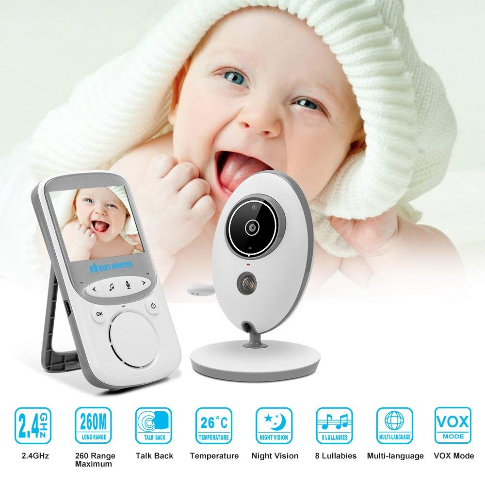 babykam baby camera with monitor video nanny 2.4 inch LCD IR Night Vision Intercom Temperature Sensor Lullaby bebek kamera nannybabykam baby camera with monitor video nanny 2.4 inch LCD IR Night Vision Intercom Temperature Sensor Lullaby bebek kamera nanny