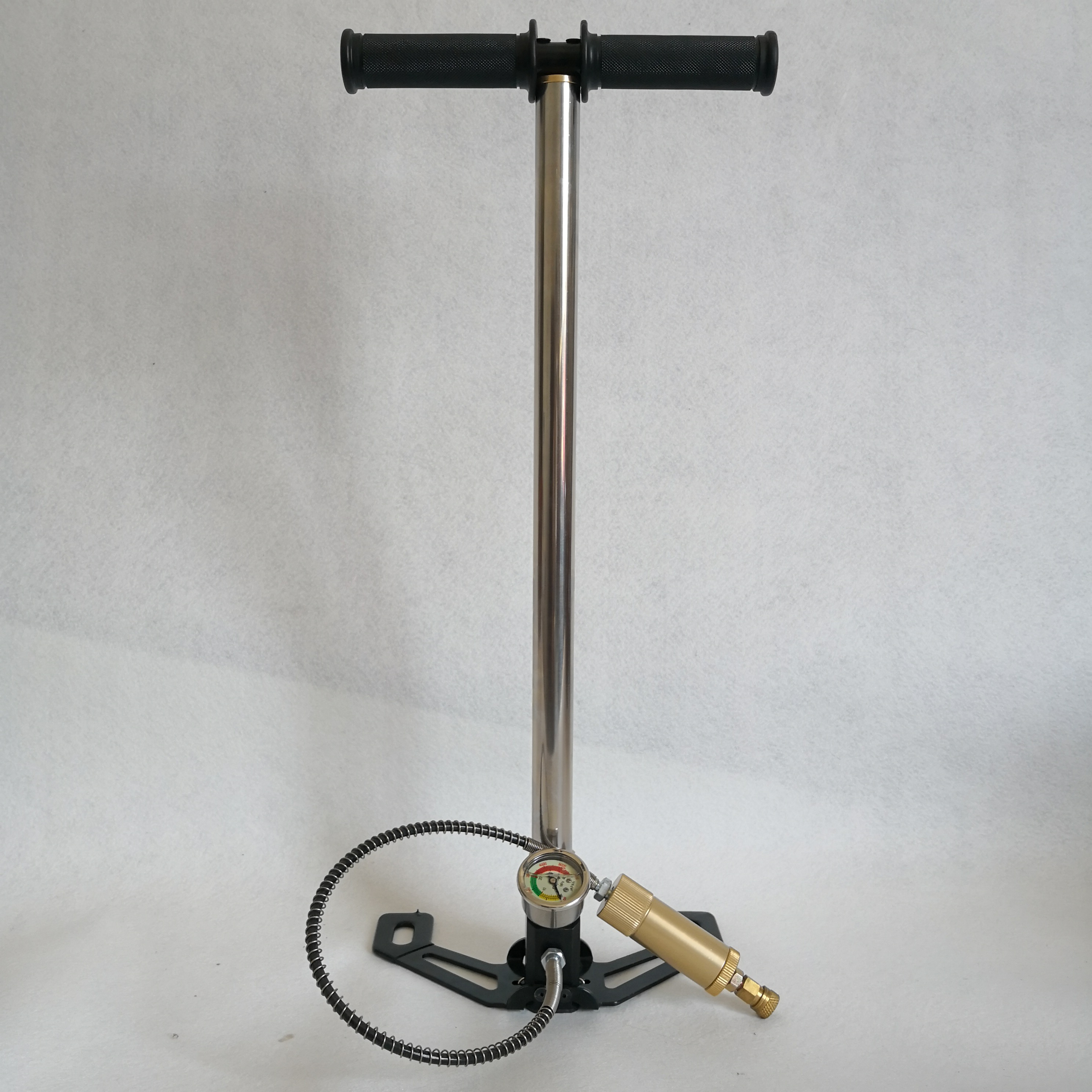 300bar 4500PSI pcp hand pump three stage high pressure paintball air pump with air filter