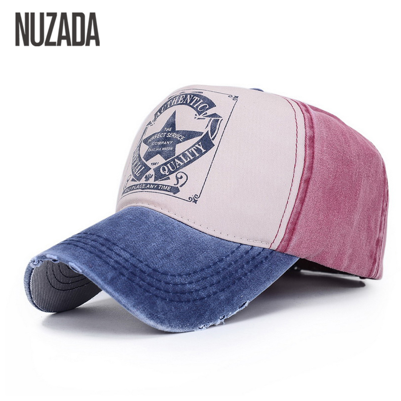 Brands NUZADA Hats Men Women Baseball Caps Hip Hop Snapback Color Printing Letters Trend Cassic Couple Cap cm-005 mnkncl new fashion style neymar cap brasil baseball cap hip hop cap snapback adjustable hat hip hop hats men women caps