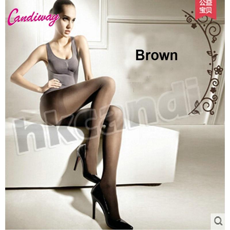 Nylon Stockings Tights brown Silk stockings Sexy Pantyhose