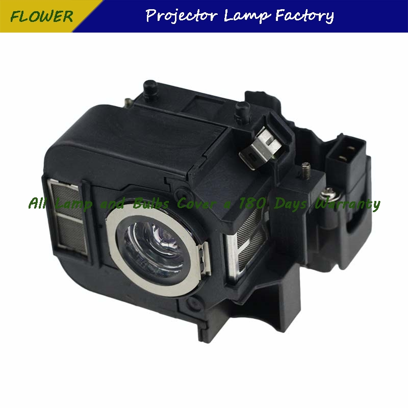 ELPLP50 Projector Lamp With Housing For Epson Powerlite 85, 825, 826W, EB-824, EB-824H, EB-825H, EB-826WH, EB-84H pureglare original projector lamp for epson powerlite 826w with housing