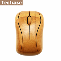 Wireless Mouse Gaming Mouse Computer Mini Bamboo Mice 2.4Ghz Top Quaility Original Wooden Handmade With Gift Package Stock