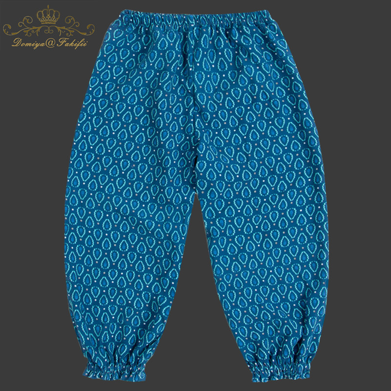 2018 Summer Brand Fashion Toddler Infant Kids Baby Boy Girl Loose Cotton Pants Totem Print Trousers Toddler Mosquito-proof Pant jeans men s blue slim fit high quality hole brand youth pop male fashion denim cotton casual trousers pant pencil pant gent life