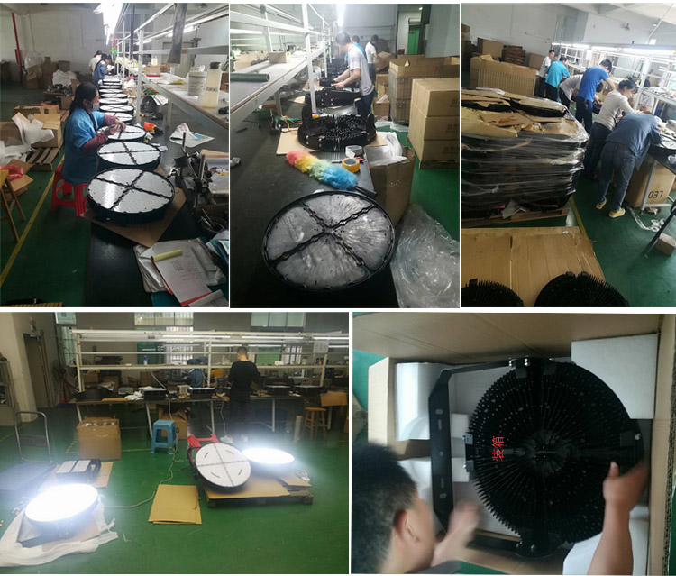 110-265VAC 400W outdoor LED floodlights Ip65 waterproof LED tunnel lights 6