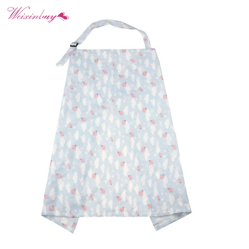 Useful Mom Breastfeeding Nursing Cover Up Baby Infant Poncho Shawl Udder Breast Towel Feeding Cotton Blanket