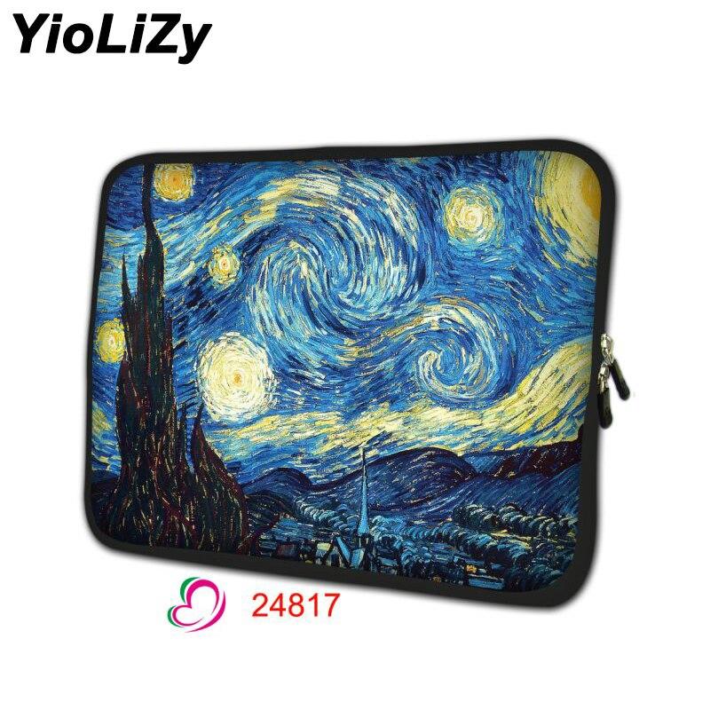 Van Gogh 7 9,7 12 13,3 14,1 15,6 17 zoll Laptop tablet Tasche Neopren Notebook sleeve computer abdeckung schutzhülle pouchNS-24818