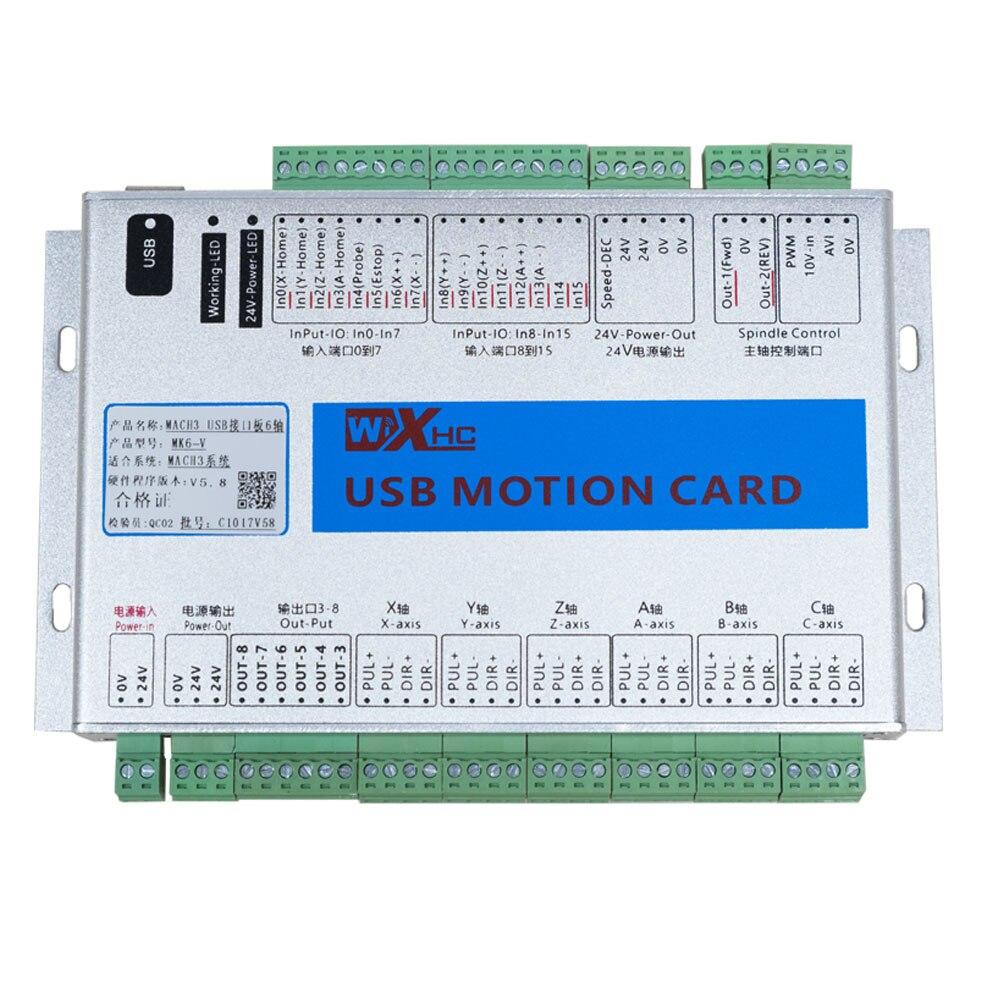 3 Axis USB Mach3 2000KHZ XHC MK3 Motion Control Card Breakout Board CNC Router