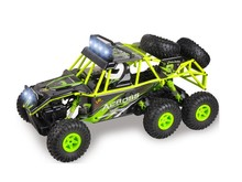 18628 six wheel bigfoot rc Off-road vehicle 2.4G 6WD hpi rc car 1:18 remote control rock crawler racing buggy vs A959-B