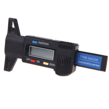 Digital LCD display Tyre Tire Tread Depth Gauge Measure Tool