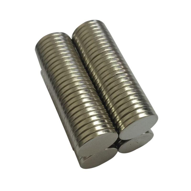 12 x 1mm N50 Mini Super Strong Rare Earth Fridge Permanent Magnet Small Round Neodymium Magnet 10pcs