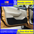 Hireno Car Door Anti Kick Pad Mat Cover Sticker For Honda Elysion JADE Odyssey SPIRIOR VEZEL XRV Car Door Protective Pad
