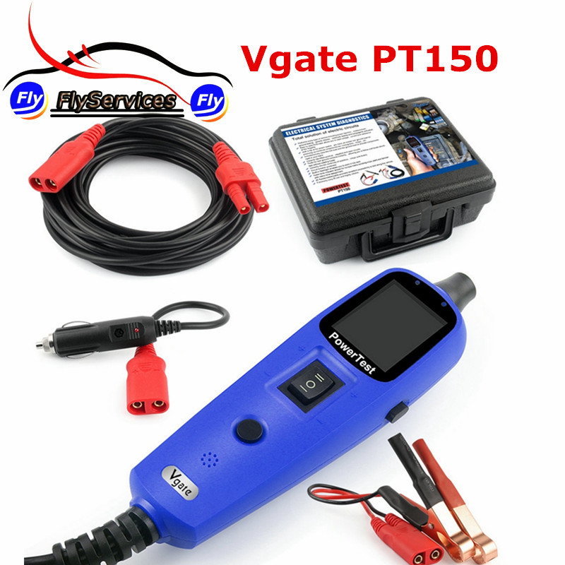 vgate powerscan pt150 car electric tester vgate pt150 multi functional automobile tester auto electrical system diagnostic tool 2017 High Quality Vgate PT150 Electrical System Diagnostic Circuit Tester Tool Power Probe Tester Vgate PowerScan PT150