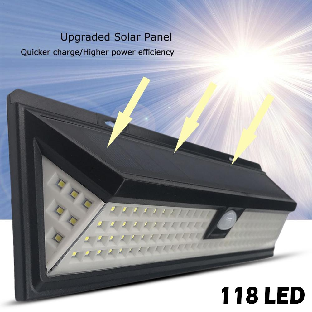 Solar Lights LED Motion Activated Wall Light Bright Waterproof Wireless Security Outdoor Lighting With Motion Sensor стоимость