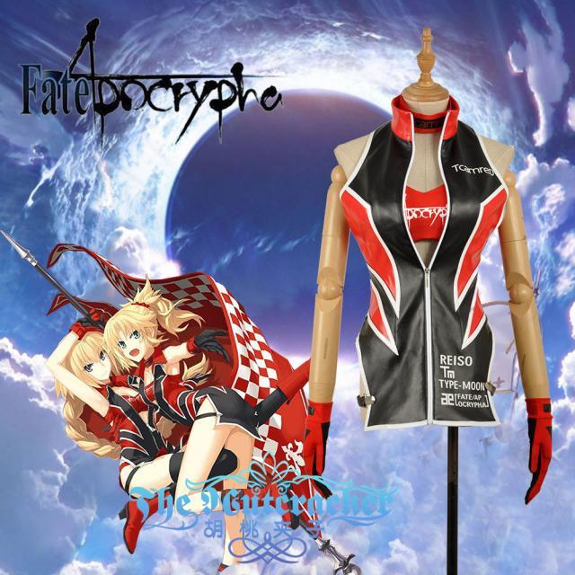 [Perso] 2018 Anime Fate/apocryphes Sabre/Mordred Course Costume Uniforme Cosplay Costume Pour Les Femmes Halloween Livraison gratuite Nouveau.