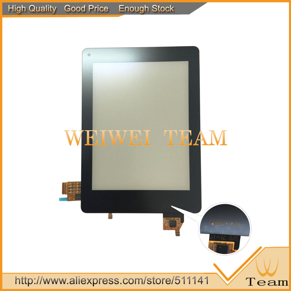 6inch For ED060XC8(LF)C1 S2 touch panel Digitizer With lcd display matrix With light For Reader Assembly Defective screen