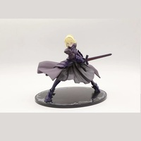 20cm New Anime Fate/stay Night Zero ALTER Black Saber Alter Model PVC Collection Decoration Action Figure Kids Popular Toys Doll