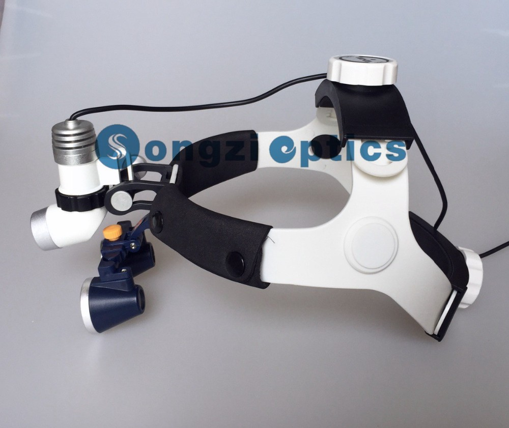 High Quality 2 5X 3X 3 5X Optional Surgical loupes with KD 202A 3 High brightness
