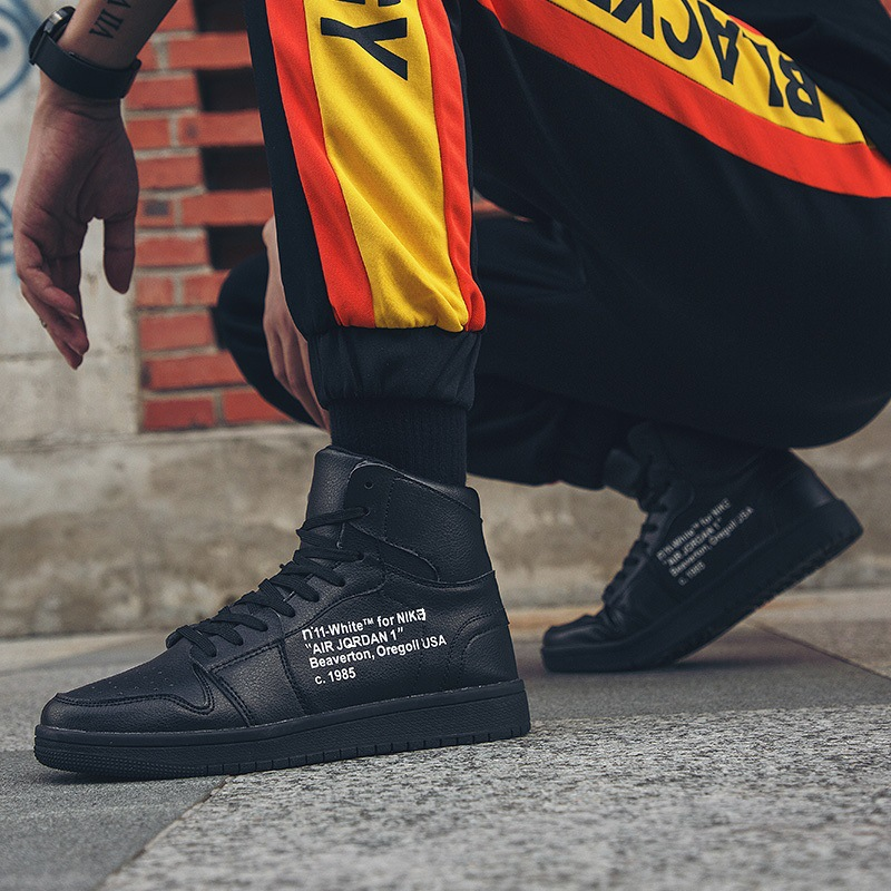 Chaussures Hip Style Top Hiver De Sneakers 2018 blanc hop Mode Automne Couleurs bleu Hommes Street 44 39 ball High Mélangées Taille Basket rouge Noir EqaCWva