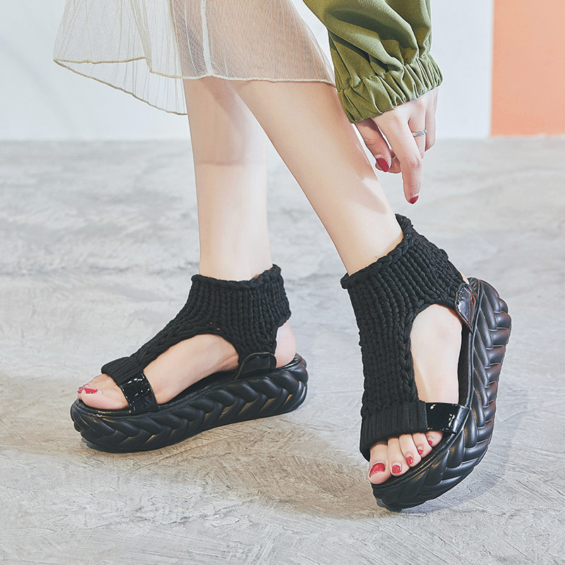 Betrouwbare Leider Tonen Vrouwen Sandalen Outdoor Mode Schoenen Zomer Vrouwen Schoenen Mujer Ademend Solf Strand Dames Casual Schoenen Sandalen