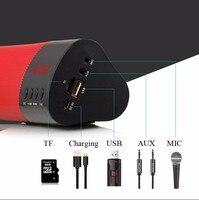 Wireless Bluetooth Speaker 1800mAh Stereo 3D Surround Sound Box TF AUX USB FM Radio for Phone PC Tablet Newest Wireless Speaker