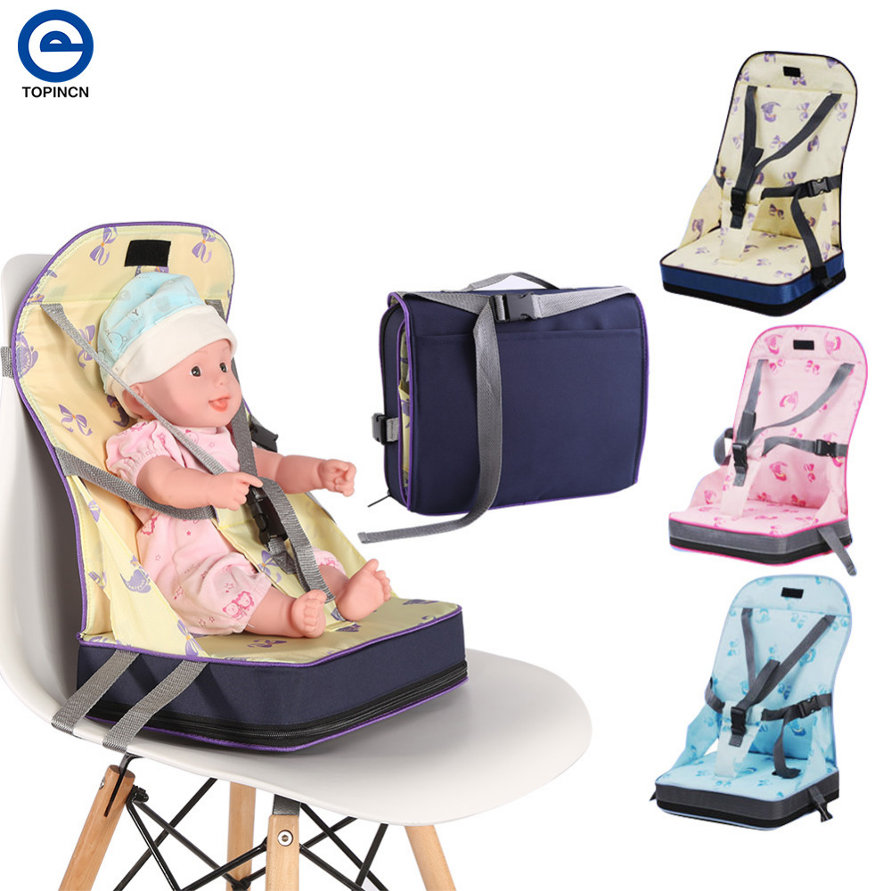 Baby Chair Portable Infant Seat Product Dining Lunch Chair Seat Safety Belt Feeding High Chair Harness Baby Chair Seat dining chair child baby the design concept of high landscape equipp with feeding bottle water cup holder infant playing chair