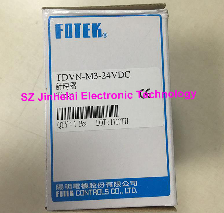 Authentic original TDVN M3 24VDC (TDVN M3 24VDC) FOTEK Time relay Dual timer