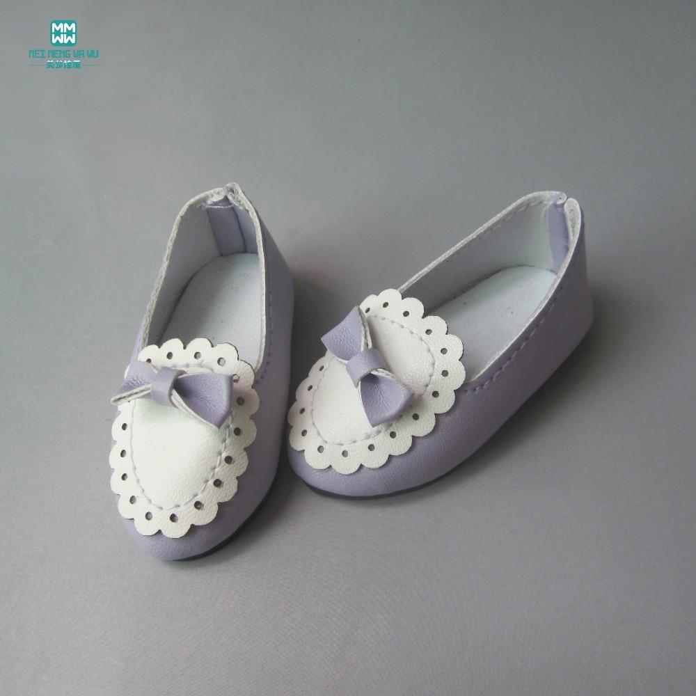 6.3cm*2.8cm dolls shoes PU leather shoes for dolls fits 1/4 bjd dolls and 40cm salon dolls Accessories