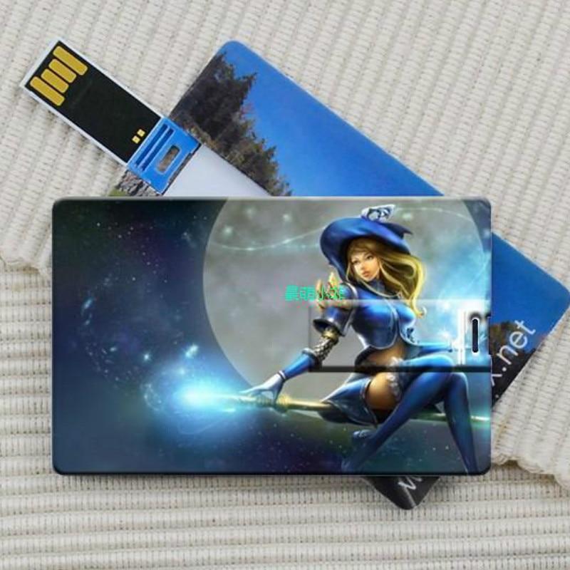 Free Custom LOGO Card Shaped USB Flash Drive Pendrive ...