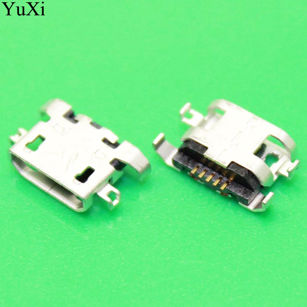 New Micro USB Connector Charging Port Replacement Parts For Lenovo A670 S650 S720 S820 S658T A830 A850 A800 S880 P780 A820 P770