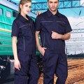 SET OF COAT+ PANTS Summer short-sleeve work wear set male outdoor short-sleeve uniform