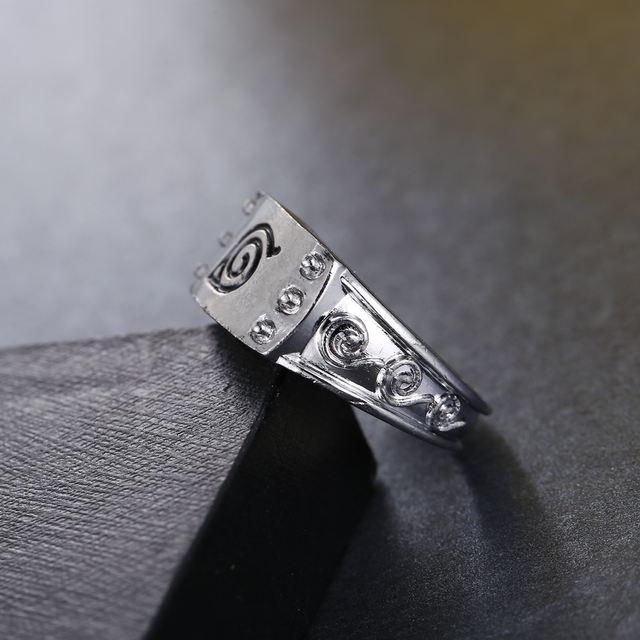 Naruto Ring Silver