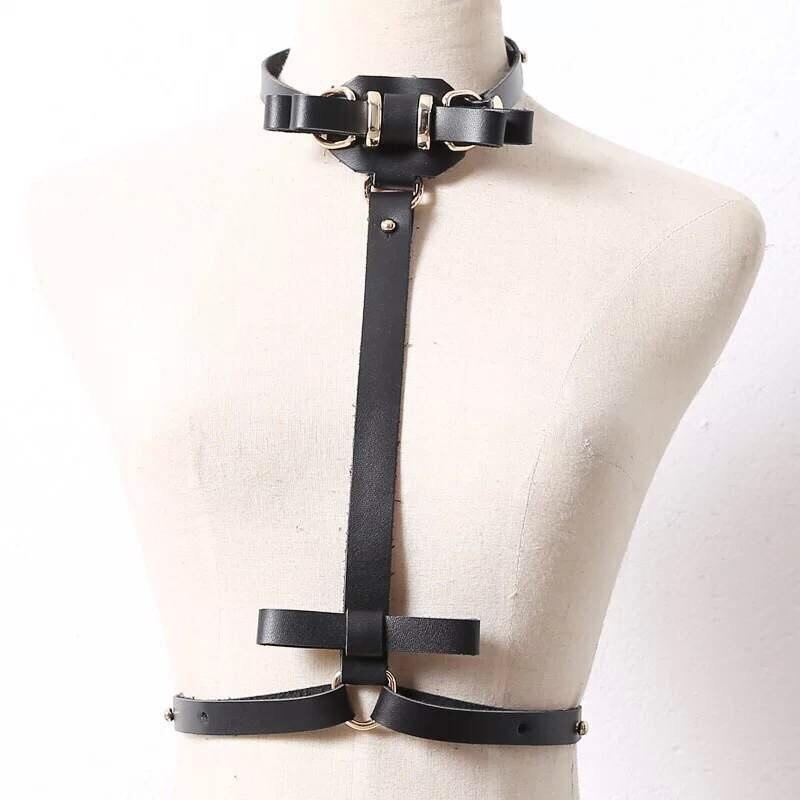 РЕМНИ, натуральная кожа Горячая стрип-клуб в Европе и Америке личности кожаный ремень связаны грудь пояс тела цепи ремень