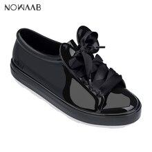 Melissa Be + Mickey Minnie 2019 New Women Flat Sandals Brand Melissa Sh