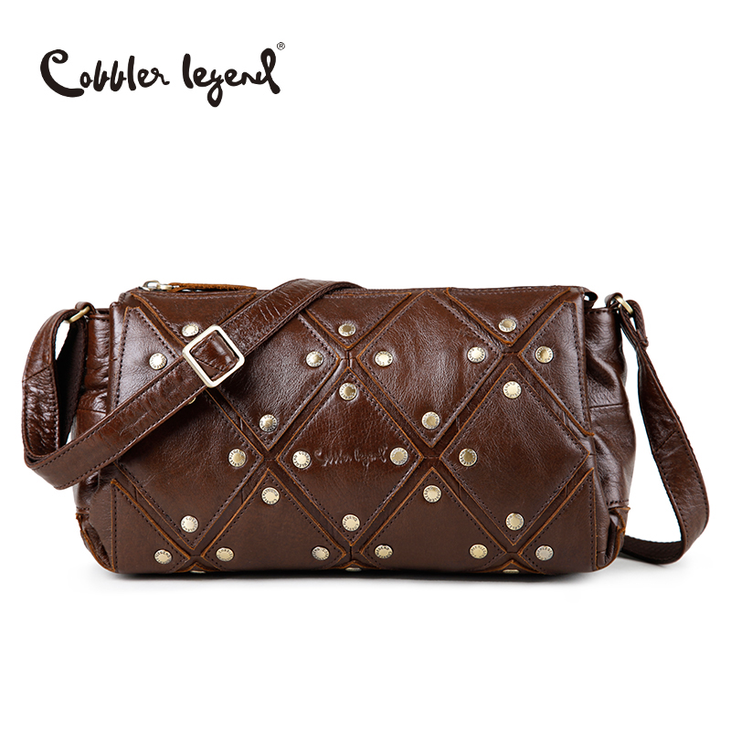 Cobbler Legend Brand New Women's Shoulder Bags Genuine Leather Bag Women Women's Bags Women's Shoulder Bags