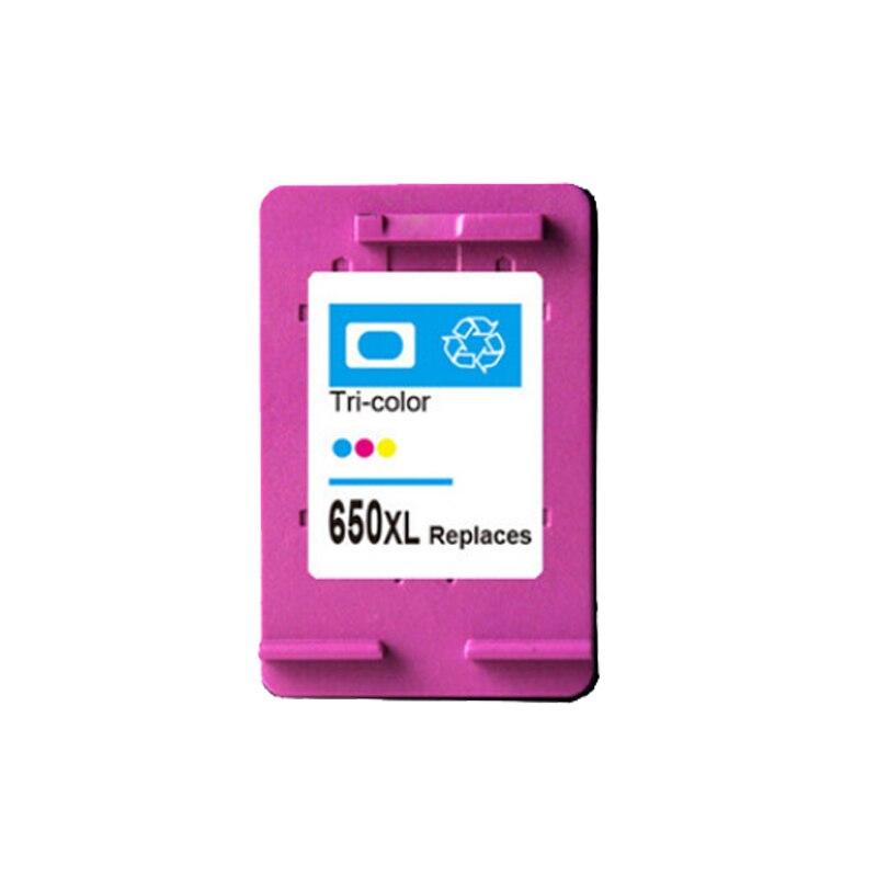 For HP 650 650xl Color Ink Cartridge For HP650 xl Deskjet 1515 1015 2645 3545 2648