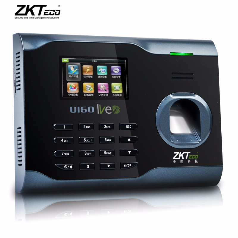 U160 Linux system WIFI TCP/IP biometric fingerprint time attendance with fingerprint +password +rfid k14 zk biometric fingerprint time attendance system with tcp ip rfid card fingerprint time recorder time clock free shipping