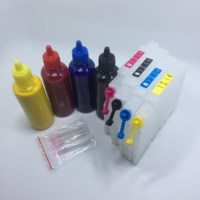 YOTAT Cartucho de Tinta Recarregáveis 400 ml Sublimação de Tinta + GC41H GC 41 GC41 para Ricoh SG3100 SG2100 SG2010L SG3110dnw com ARC chip Cartuchos de tinta    -