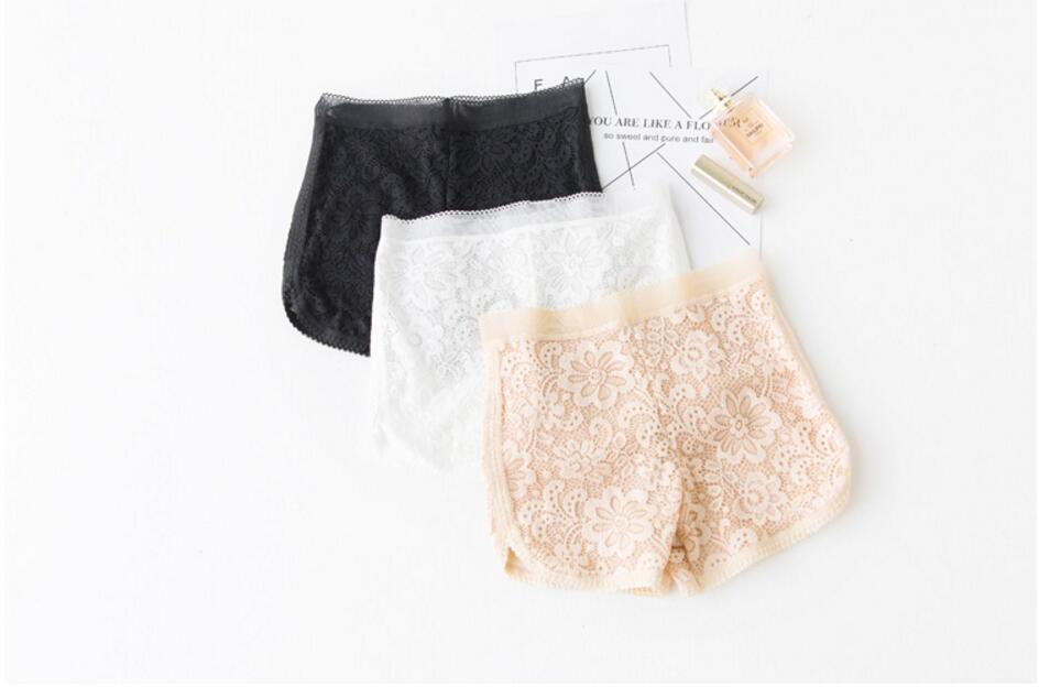 2020 Summer Hot Women's Lace Embroidery Flower Floral Short Lady Female Sexy
